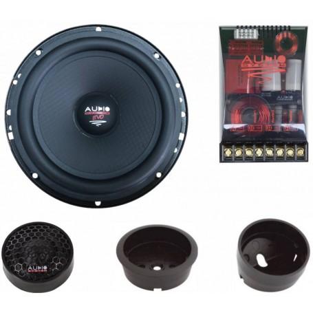 Audio System HX 165 SQ Evo 3 2 Wege Lautsprecher-System